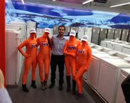 Expert Tevi Morphsuits - Elektrofachhandel Morphsuit Marketing Kampagne