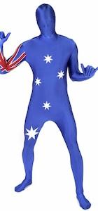 Australien Morphsuit