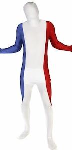 Frankreich Morphsuit