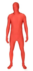 Roter Morphsuit
